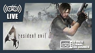 [Live ÉPICA] Resident Evil 4 (PS4 Pro) - DESAFIO DOS 1 MIL KILLS NO PROFISSIONAL #1