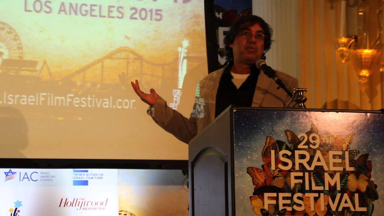 29TH ISRAEL FILM FESTIVAL Yoram Honig, Menager director, Jerusalem film &TV  Fund