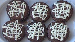 Шоколадное пирожное в мультипекаре от REDMOND.