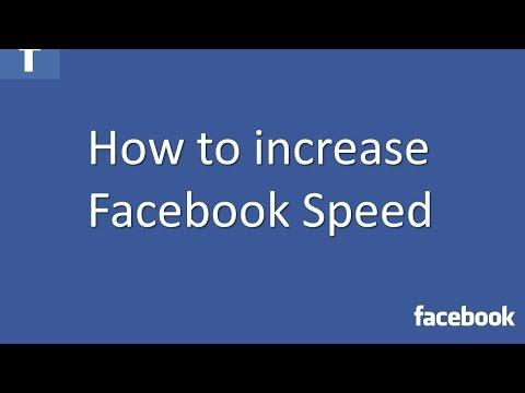 How To Increase Facebook Speed | TechCody.com