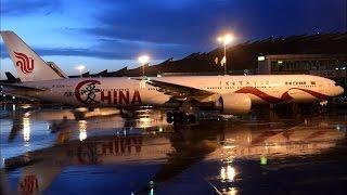 air china 747 8 business class ca982 new york jfk to beijing capital international airport