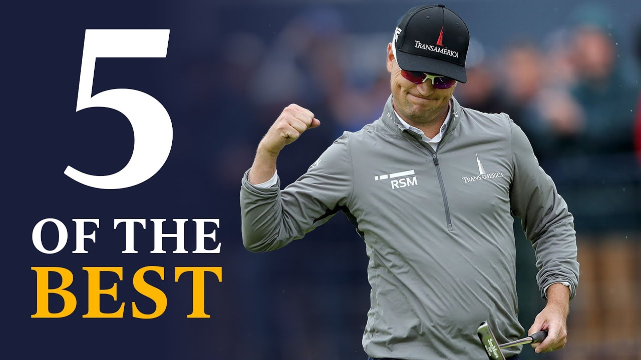Outrageous Long Putts   Five Of The Best