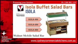 Tecfrigo Isola Buffet Salad Bars