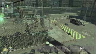 Mw2 Glitch: Another Way Out of Map Skidrow [HD]