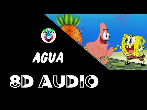 "Tainy, J Balvin – Agua (8D AUDIO) (Music From ""Sponge On The Run"" Movie/Official Audio)"