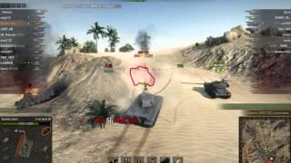 E 50 Ausf. M, Песчаная река, Штурм