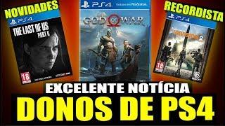 NOVO EXCLUSIVO DO PS4 MELHOR QUE GOD OF WAR & Promoção Xbox! (Noticias - PS4/Xbox)