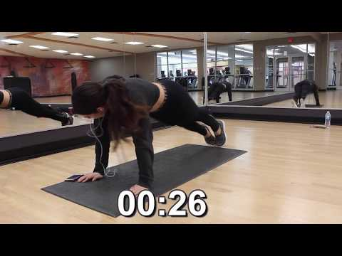 7 Minute KENDALL JENNER INTENSE Full Body Workout At Home | NO EQUIPMENT