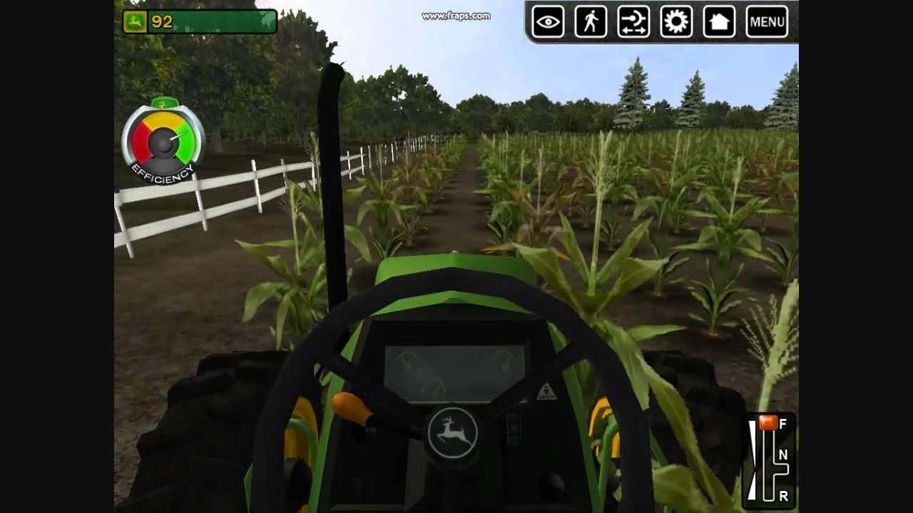 John deere green truck ~ games.