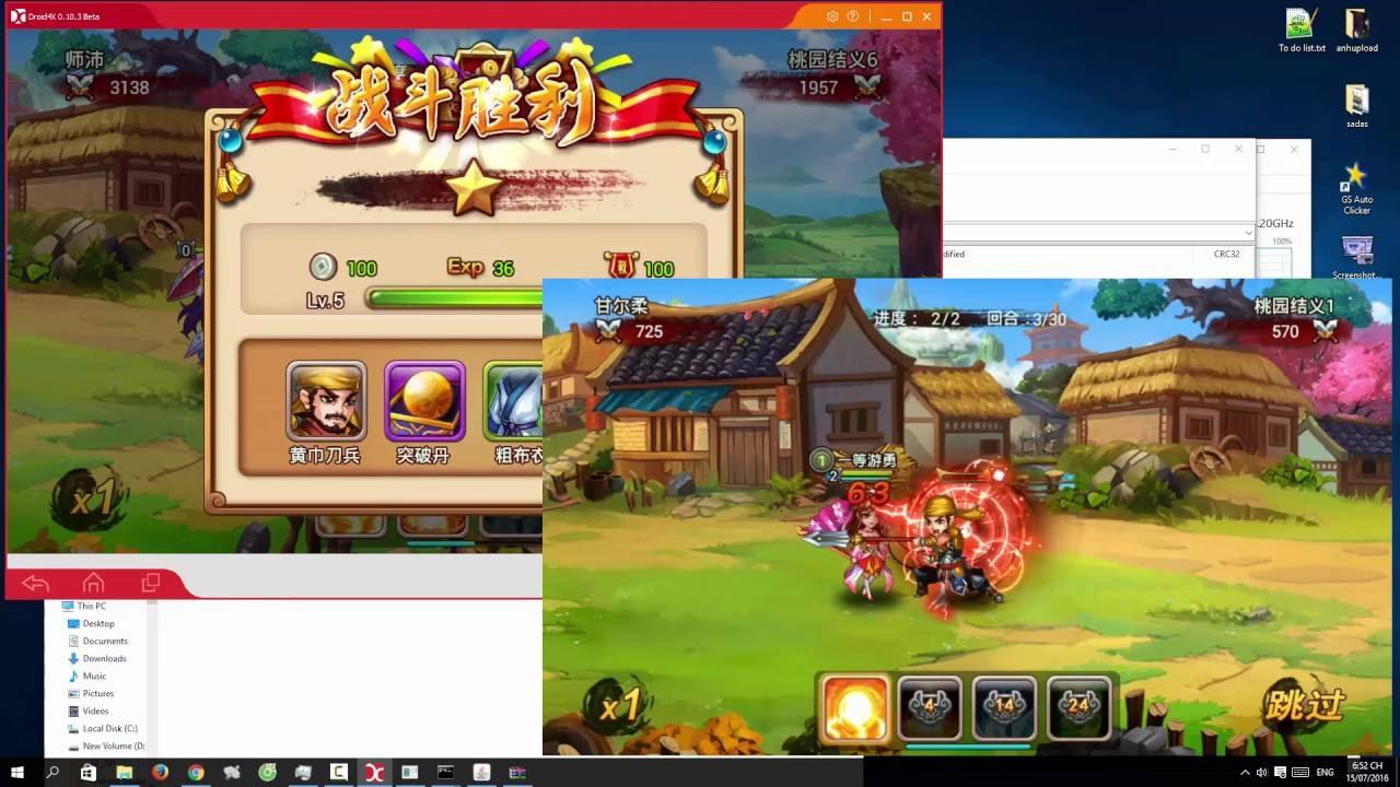 Server SOÁI CA TAM QUỐC config cho MOBILE – từ MrPround.com