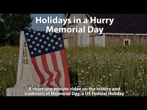 Holidays in a Hurry: Memorial Day