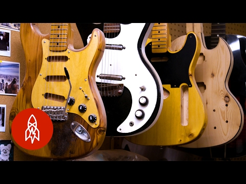 Harvesting Guitars From The Bones Of New York City