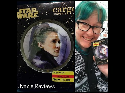 Jynxie Reviews the Cargo Cosmetics General/Princess Leia Organa Collector's Compact from Kohl's!