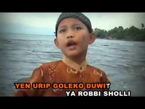 LUCU Sholawat Anak Anak SLUKU SLUKU BATOK--Voc.Mohammad Rizal