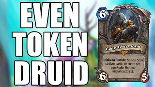 DRUIDA PAR ( Even Token Druid ) | Hearthstone