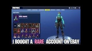 When You buy a $1000+ Fortnite account (not clickbait)