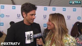 John Stamos' Son Brings Tears to His Eyes, Plus: Is He Having More Kids with Caitlin McHugh?