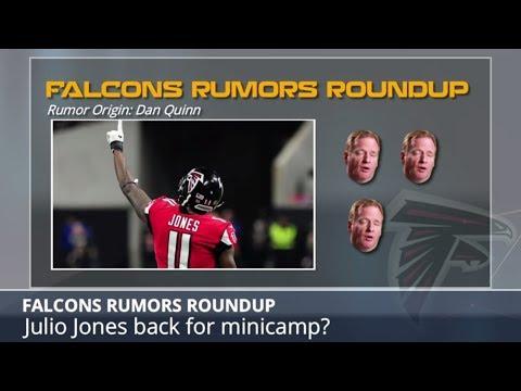 Falcons Rumors: Julio Jones Holdout And Takk McKinley Breakout