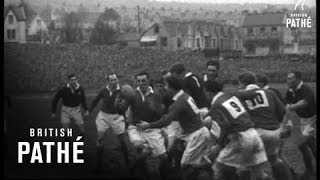 Rugby Wales V Scotland (1950)