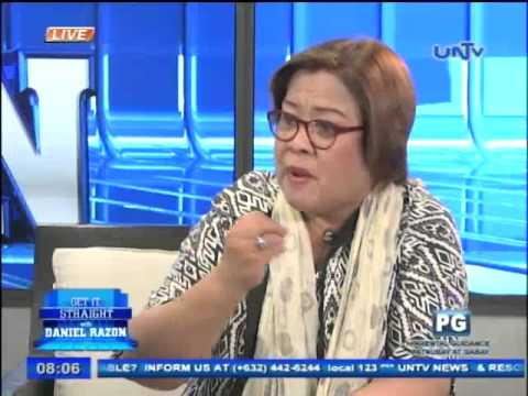 Justice Secretary Leila De Lima on Get it Straight (Part 2)
