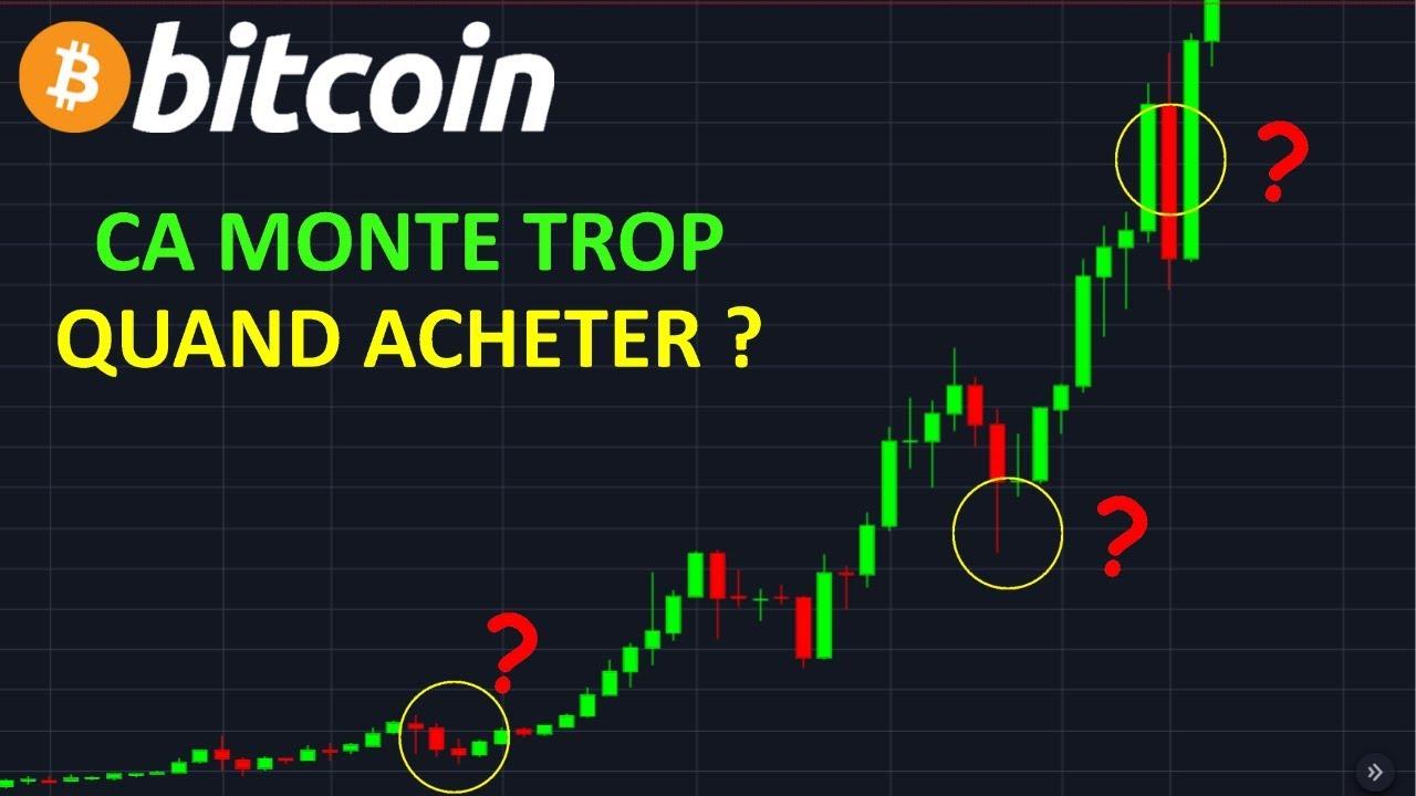 BITCOIN QUAND EN ACHETER  !? btc analyse technique crypto monnaie