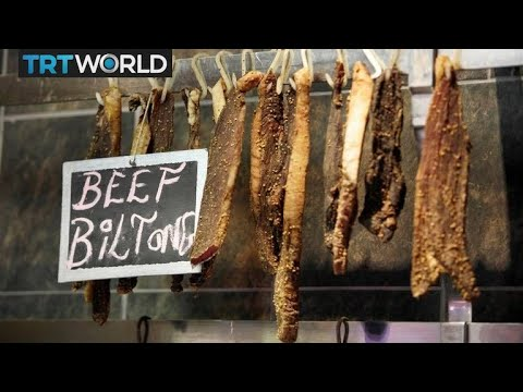 Biltong becomes very popular in the UK