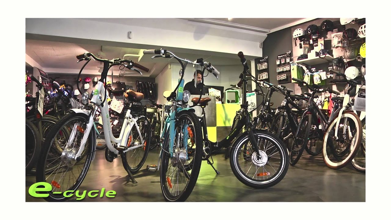 pr sentation du magasin de velo lectrique e cycle youtube. Black Bedroom Furniture Sets. Home Design Ideas