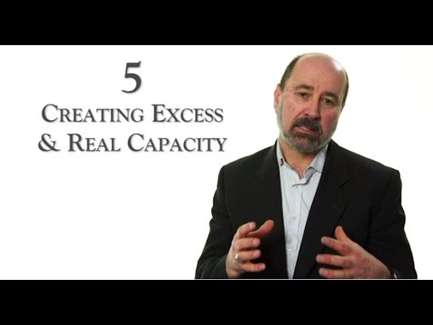 Creating Excess and Real capacity