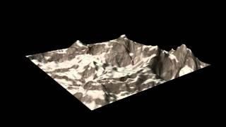 Fractal Terrain in Maya (Python script)