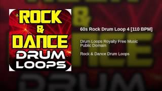 60s Rock Drum Loop 4 [110 BPM]