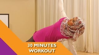 30 minute home workout video for Ramadan