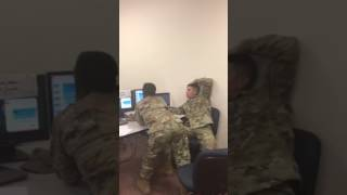 The Mannequin Challenge Ft. Class 107 (US Army 92A)