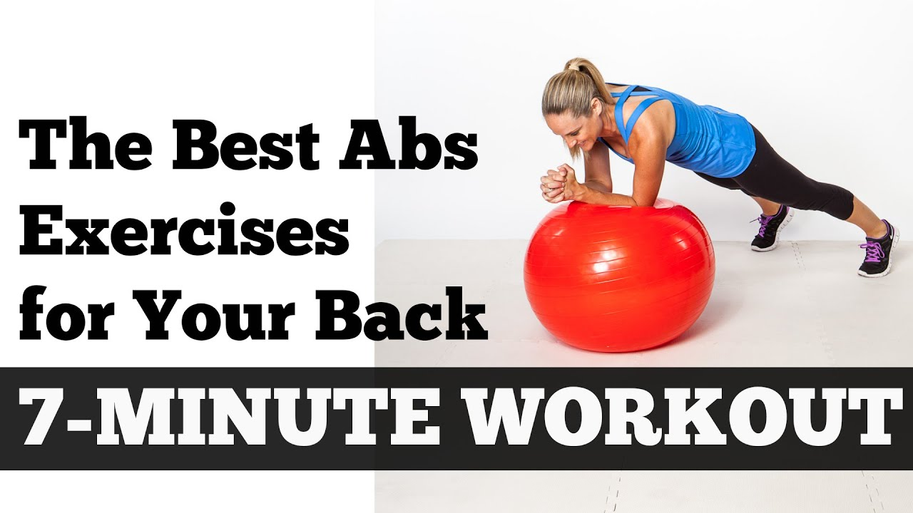 The Best Abs Exercises for Your Back Full Length 7 Minute Home