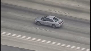 Watch Live: Driver Leads Authorities on Chase