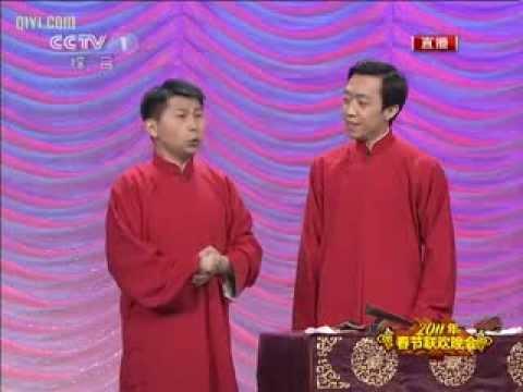 2011央视兔年春晚 何云伟 李菁 《 独家录制》
