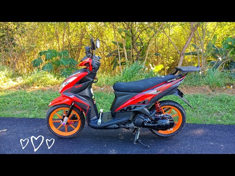 New Look for my Mio mxi 125 fi!