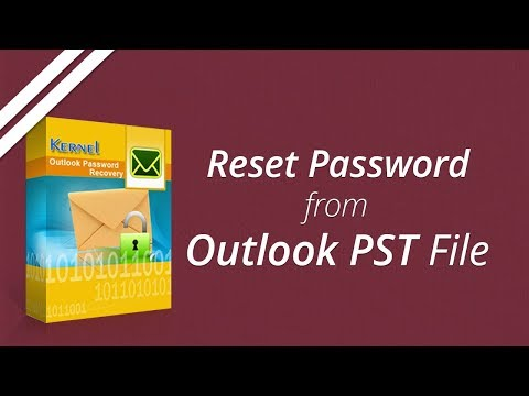 Set New Password For PST File Without Accessing Outlook