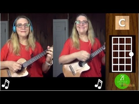 Jingle Bells Easy Christmas Ukulele Tutorial - 21 Ukulele Songs