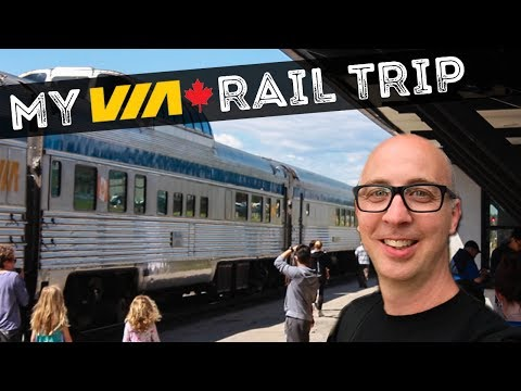 I'M ON THE TRAIN + VIA RAIL CANADIAN REVIEW