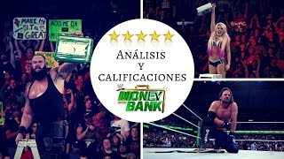 WWE Money in the Bank 2018 - Análisis y Calificaciones