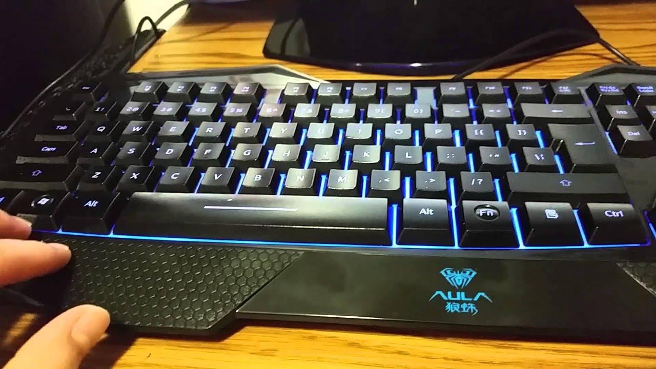 Aula Backlit Gaming Keyboard