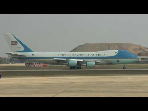 PRESIDENTIAL DEPARTURE: President Trump Leaves for Austin, Texas