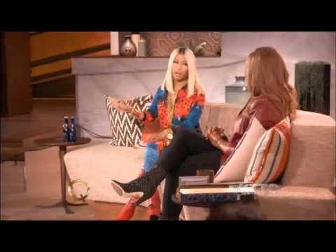 Nicki Minaj on The Queen Latifah Show 2013