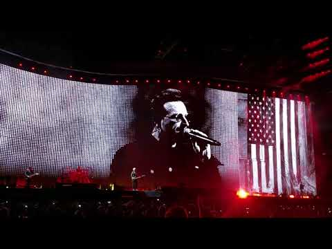 U2 - Bullet The Blue Sky - Lucas Oil Stadium, Indianapolis, IN, Sept. 10th 2017