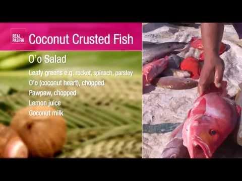 Recipe: Coconut Crusted Fish from Samoa