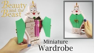 Miniature DIY: Beauty and the Beast Wardrobe