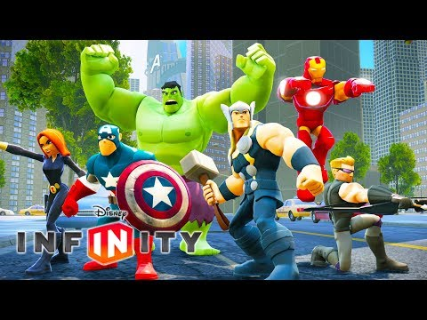 THE AVENGERS Cartoon Games for Kids – Superheroes Videos for Children – Disney Infinity 2.0