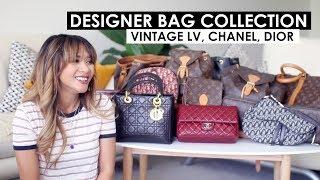 VINTAGE DESIGNER HANDBAG COLLECTION | Louis Vuitton, Dior, Chanel