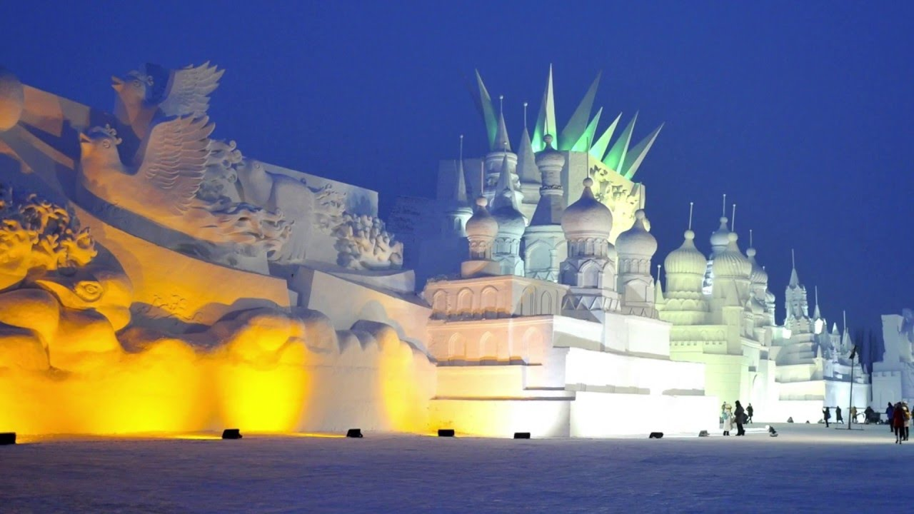 Winter Chill Out Music Harbin International Ice And Snow