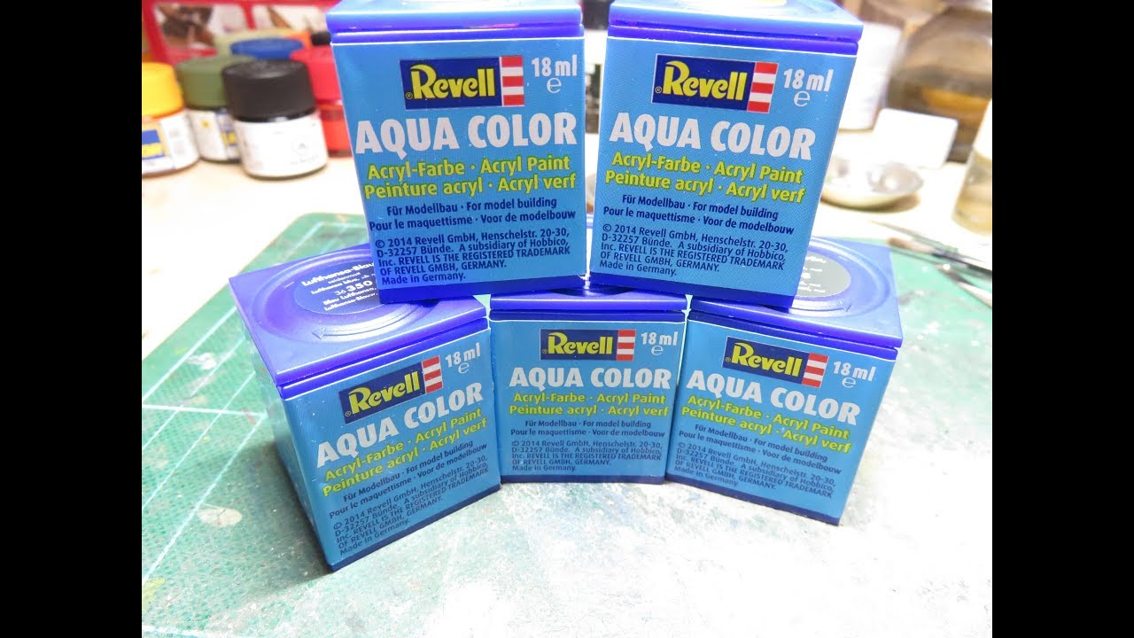 Revell Aqua Paints   Review (sort Of)